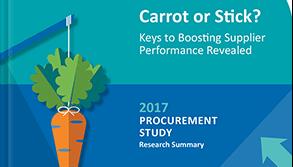 2017 Supplier Performance Study