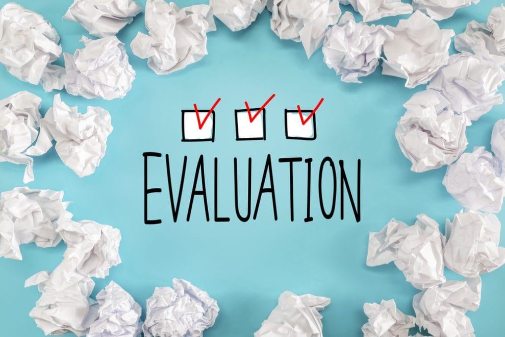 10 reasons not to evaluate your program