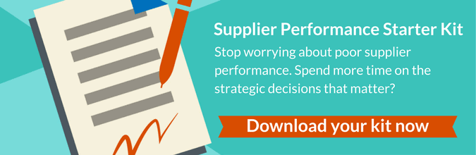 Want to spend less time worrying about poor supplier performance?