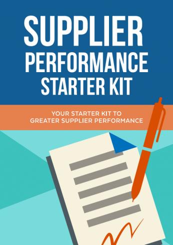 Supplier Performance Starter Kit
