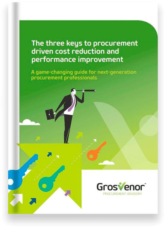 The three keys to procurement driven cost reduction and performance improvement